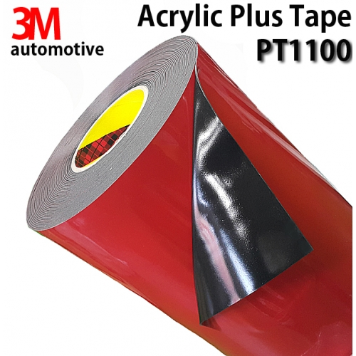 3MPT1100 Acrylic Plus Tape 양면테이프 1.1mm x 16.5M 흑색